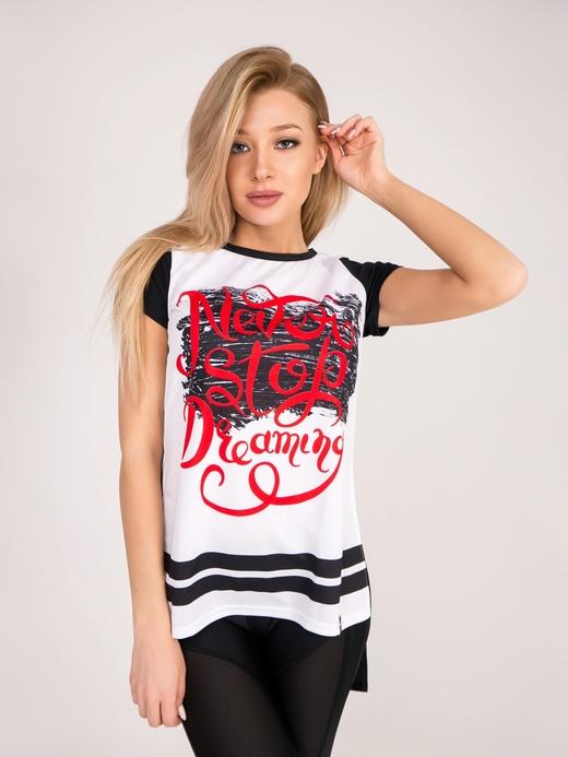 """Укороченная футболка Mantia """"NeverStop"""""""